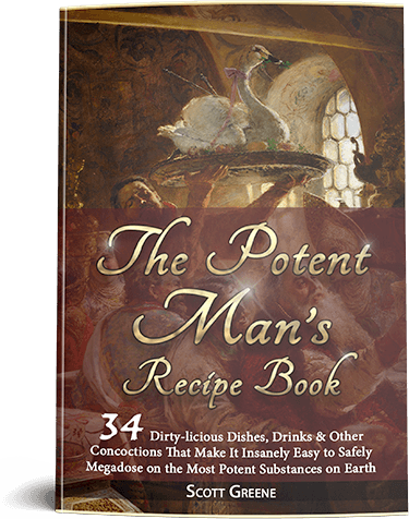 The Potent's Man Recipe Book